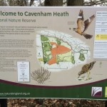 Cavenham Heath NNR Sign
